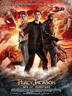 《波西・杰克逊与魔兽之海》海报