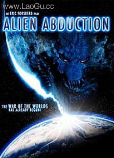 《外星人绑架》海报